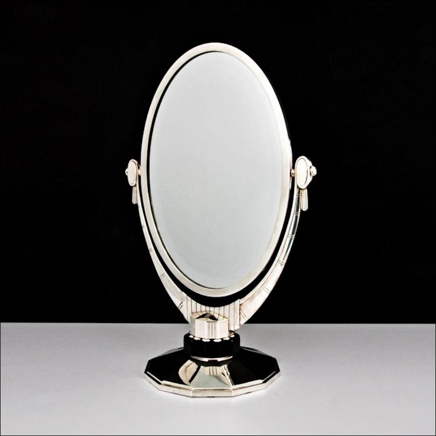 Ribbehege Amp Azevedo What S New An Art Deco Vanity Mirror A